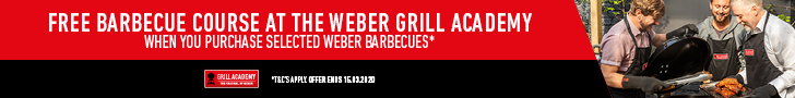 Free Barbecue Course at the Weber Grill Academy